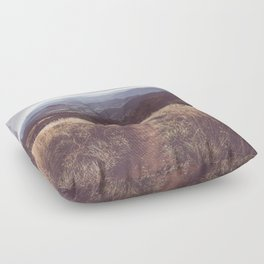 Bieszczady Mountains - Landscape and Nature Photography Floor Pillow
