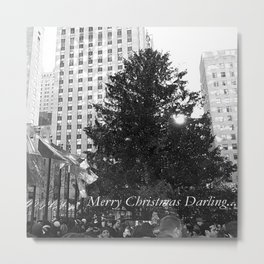 Merry Christmas Darling... Metal Print