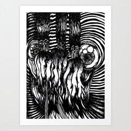 FM #6 (Mini Print) Art Print