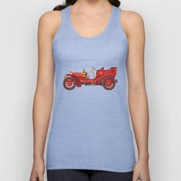 Antique car Unisex Tank Top