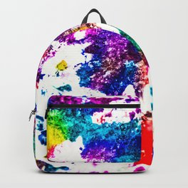 queer radiation —abstract art » modern print » trippy experimental Backpack