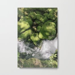 Feel the Wetness in the Air Metal Print