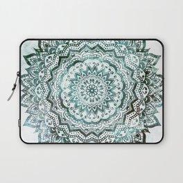 Emerald Jewel Mandala Laptop Sleeve