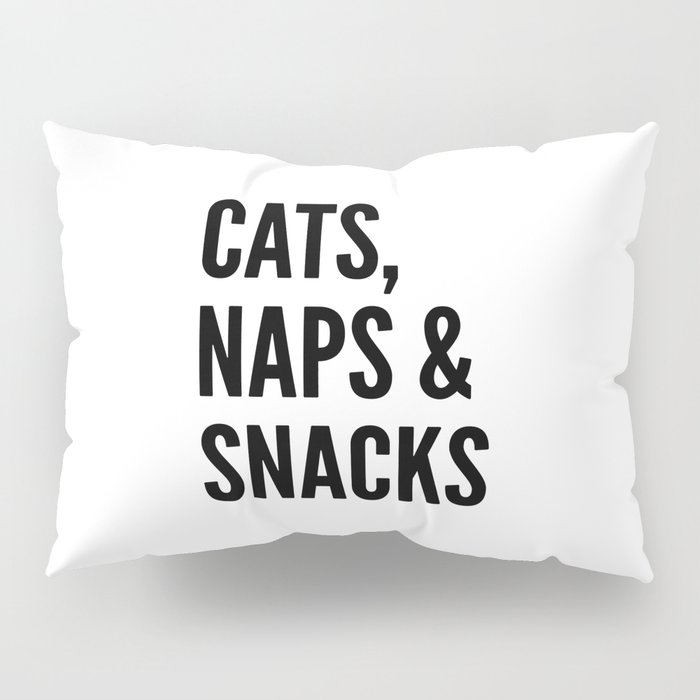 Cats, Naps & Snacks Pillow Sham