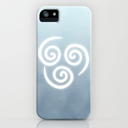 Avatar Air Bending Element Symbol iPhone Case