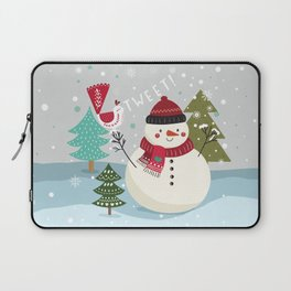 The Sweet Song Of Winter Laptop Sleeve