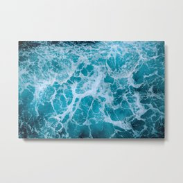 Living Ocean Metal Print
