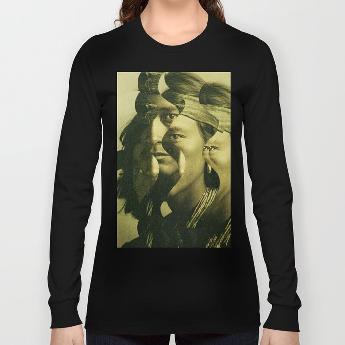 the indian wave 2 Long Sleeve T-shirt