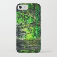 giants iPhone & iPod Cases featuring Mossy Giants by JMcCool