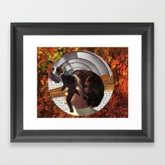 Portal to Mars Framed Art Print