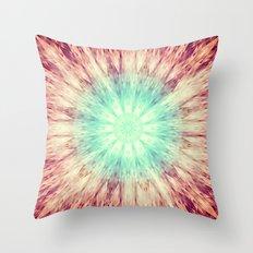 Mandala Glow Throw Pillow