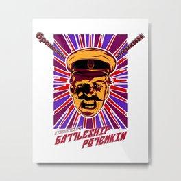 Battleship Potemkin Metal Print