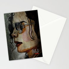 MJ In Profile Stationery Cards