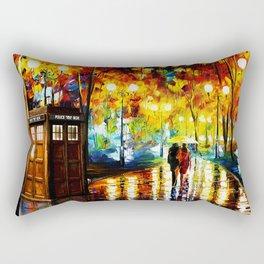 Tardis Romantic Rectangular Pillow