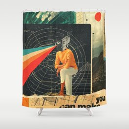 You Can make it Right Shower Curtain