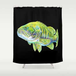 Goliath Grouper Shower Curtain
