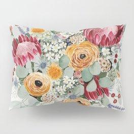 Fall Protea Bouquet Pillow Sham