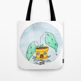 In The Garden: April Tote Bag