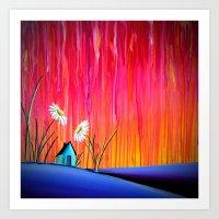 Where Flowers Bloom Art Print