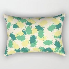 Beetles Design Rectangular Pillow