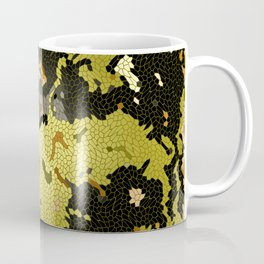 Abstract leaves mosaik Coffee Mug