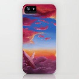 ocean clouds iPhone Case