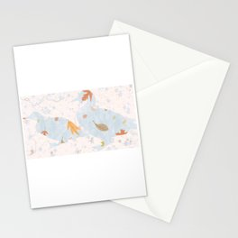 Fall Mallards decor Stationery Cards