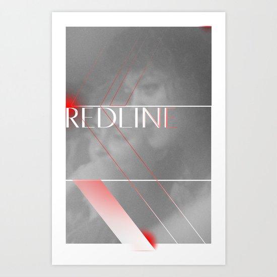 REDLINE Art Print