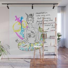 Capricorn Yoga Wall Mural