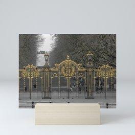 Canada Gate Green Park Buckingham Palace London England Mini Art Print