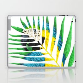 Parrot Palm Leaf Laptop & iPad Skin