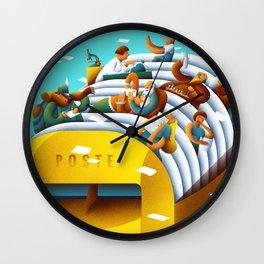 The mailbox Wall Clock