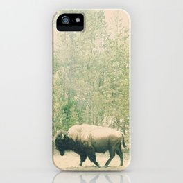 bison I iPhone Case