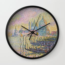 Grand Canal (Venice), Paul Signac, 1905 Wall Clock