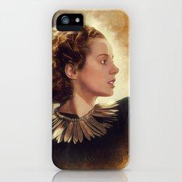 Elsa Lanchester, Vintage Actress iPhone Case