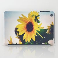 sunflower iPad Cases featuring sunflower by Sylvia Cook Photography