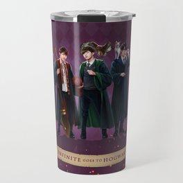 Infinite goes to Hogwarts Travel Mug
