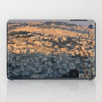 israel iPad Cases featuring Jerusalem Living in Israel by Rachel J