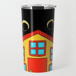Who Lives There? Travel Mug
