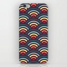 rainbowaves pattern iPhone & iPod Skin