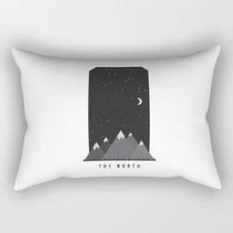 Night in the North Rectangular Pillow