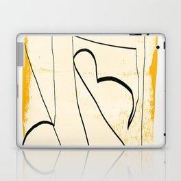 Abstract line art 4 Laptop & iPad Skin