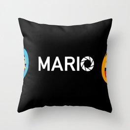 Super Mario Laboratories  Throw Pillow