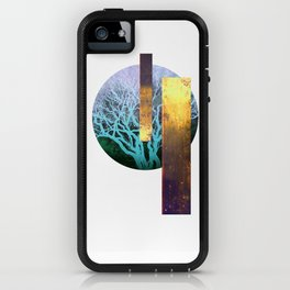 The Tree Moon and golden walls iPhone Case