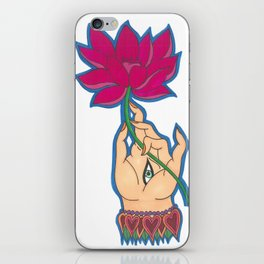 Indian Hand by Shane A. iPhone Skin