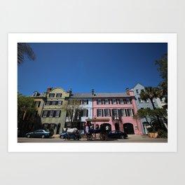 Charleston Colors Art Print