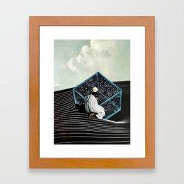 drop down Framed Art Print
