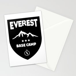Mount Everst Base Camp Stationery Cards