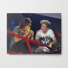 Harry Styles feat. Banana and Niall Horan Metal Print