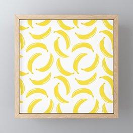 Bananas all over Framed Mini Art Print